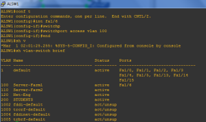 VLAN Verification